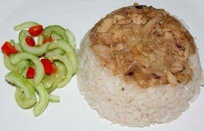 Resep Cara Membuat Nasi Tim Resep Nasi Resep Masakan