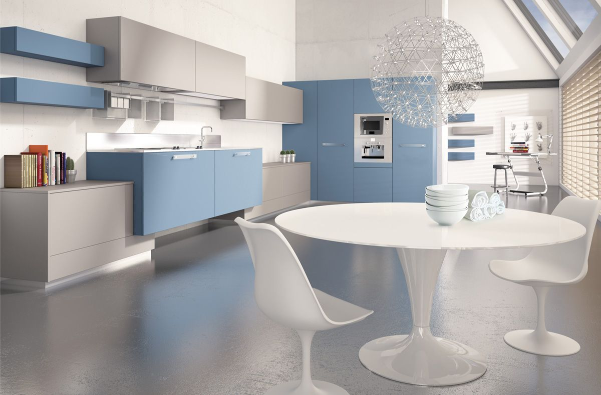 Top fancy blue based kitchen designs collection wonderful blue