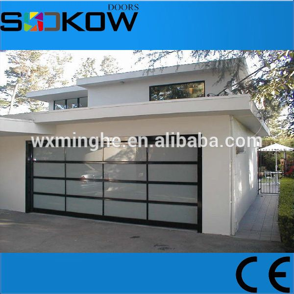 Sectional Garage Gl Door Aluminum Prices Frame Transpa Doors