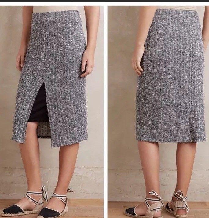 0e4ebaa240 NWT Anthropologie Marled Gray Black Dolan Left Coast Layered Luna Skirt Size  XS #fashion #clothing #shoes #accessories #womensclothing #skirts (ebay  link)