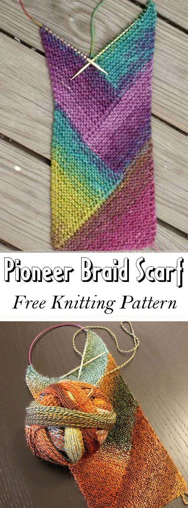 Photo of Pioneer Braid Scarf – Free Pattern,  #Braid #Free #Pattern #Pioneer #Scarf