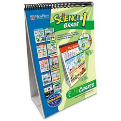 NewPath Learning® Curriculum Mastery® Flip Chart - Science, Grade 1