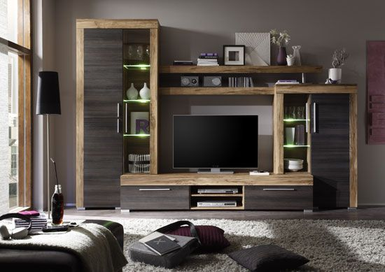 Boom Living Room Furniture Set In Walnut And Dark Brown Best