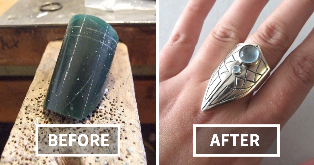 From Wax To Jewelry: I Handcrafted A Silver Claw Ring | Bored Panda