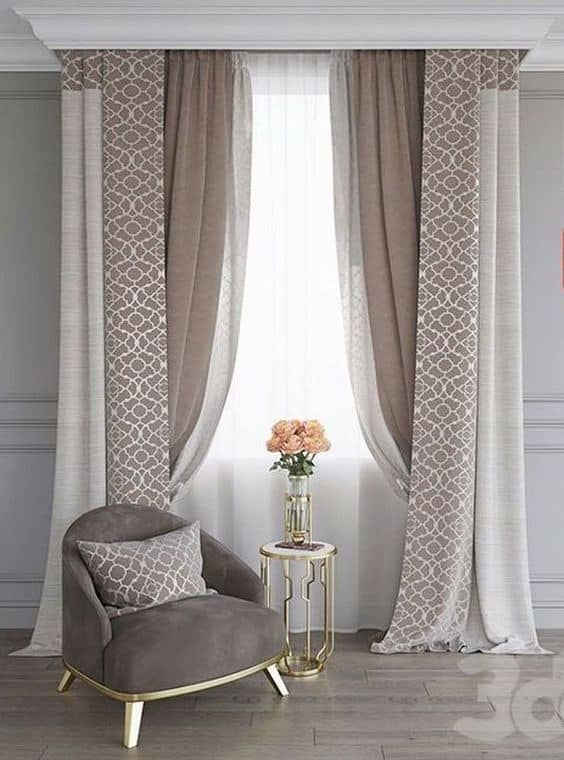 17 Amazing And Unique Curtain Ideas For Large Windows Curtains Living Room Modern Living Room Decor Curtains Curtains Living Room