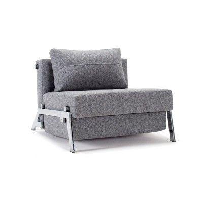 Poltrona letto Cubed trasformabile letto singolo design