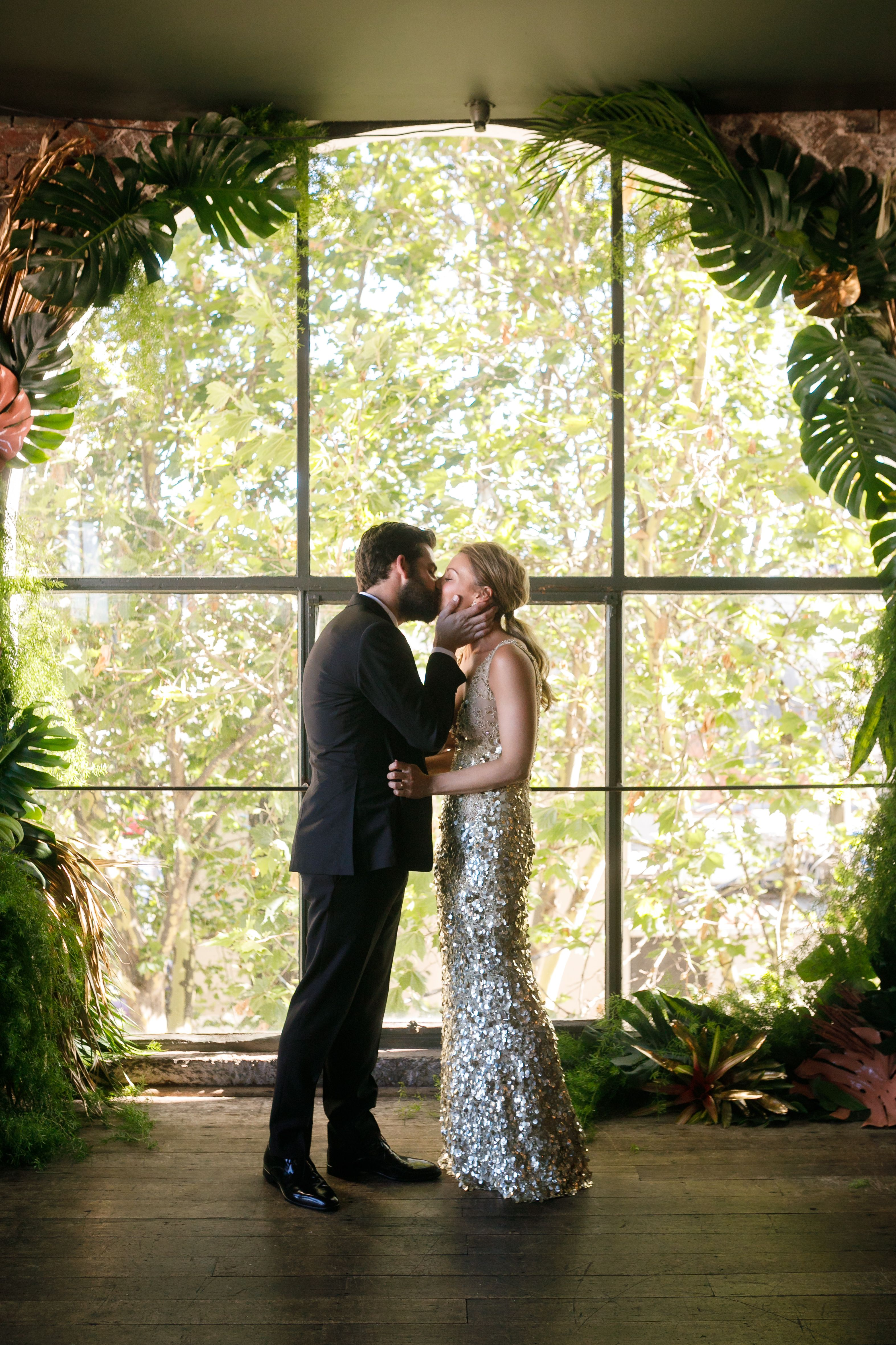 Inside A Melbourne New Year's Eve Wedding — Here The Bride And Glamorous Panama Dining Room Design Decoration