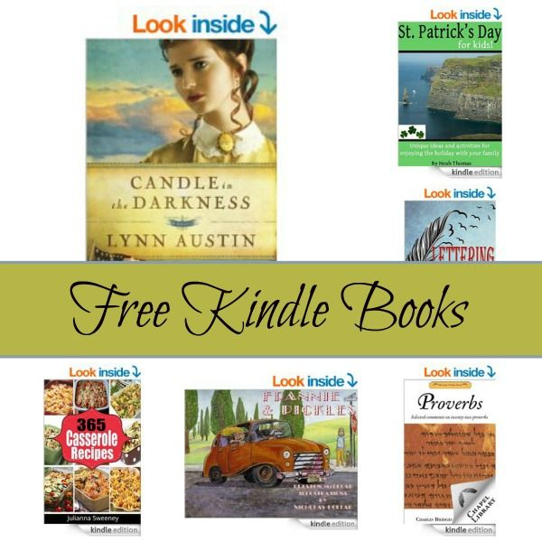 Free Kindle Book List: Candle in the Darkness,Frannie and Pickle, Proverbs, and More