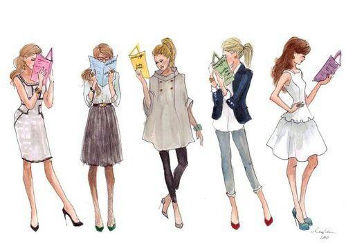 #Chic #illustration #fashion #style #inslee #art