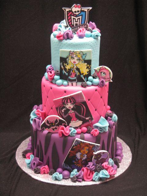 Wondrous 10 Cool Monster High Cakes Monster High Birthday Cake Monster Funny Birthday Cards Online Bapapcheapnameinfo