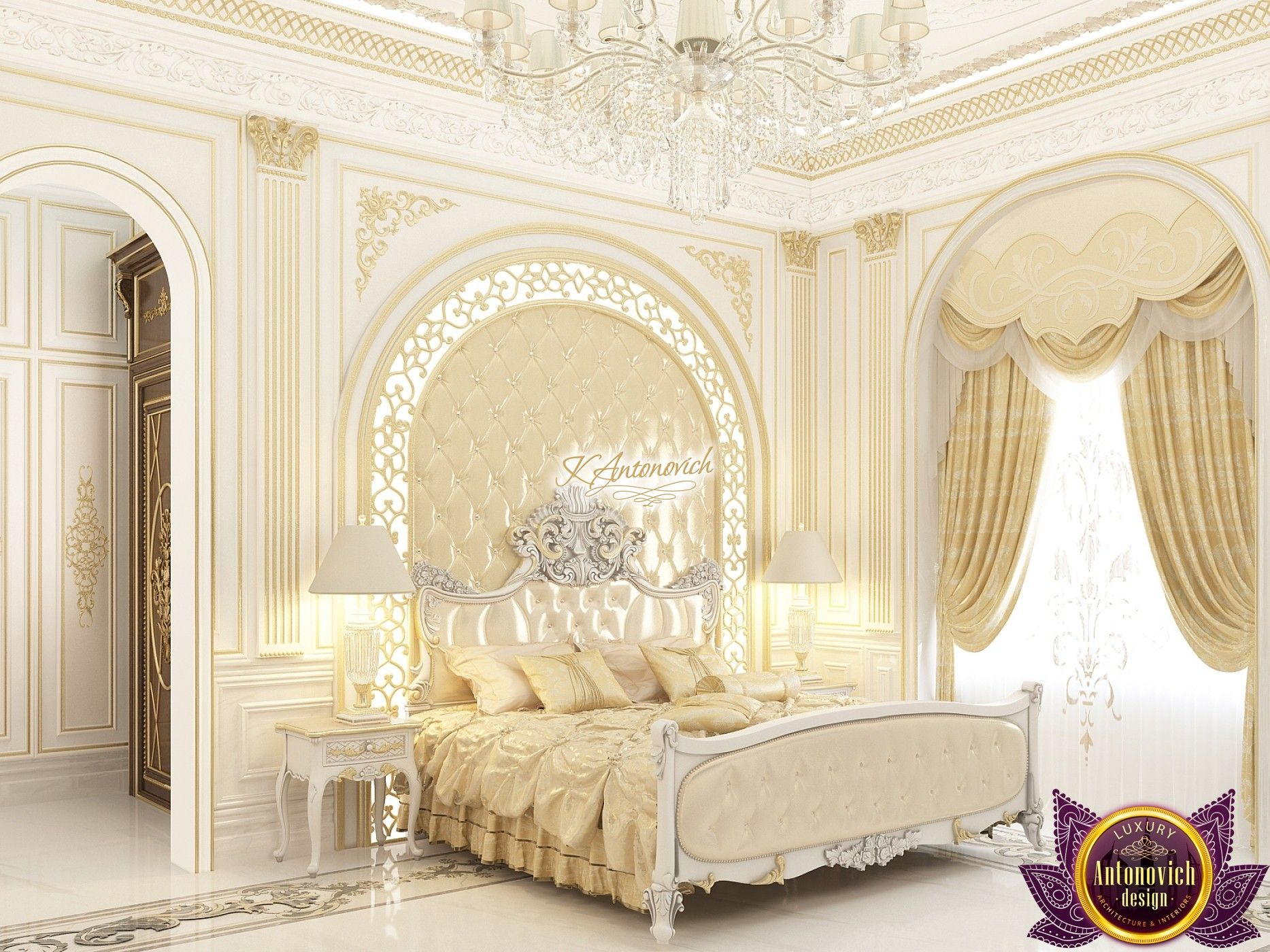 Pin On Gorgeous Bedrooms From Antonovich Design