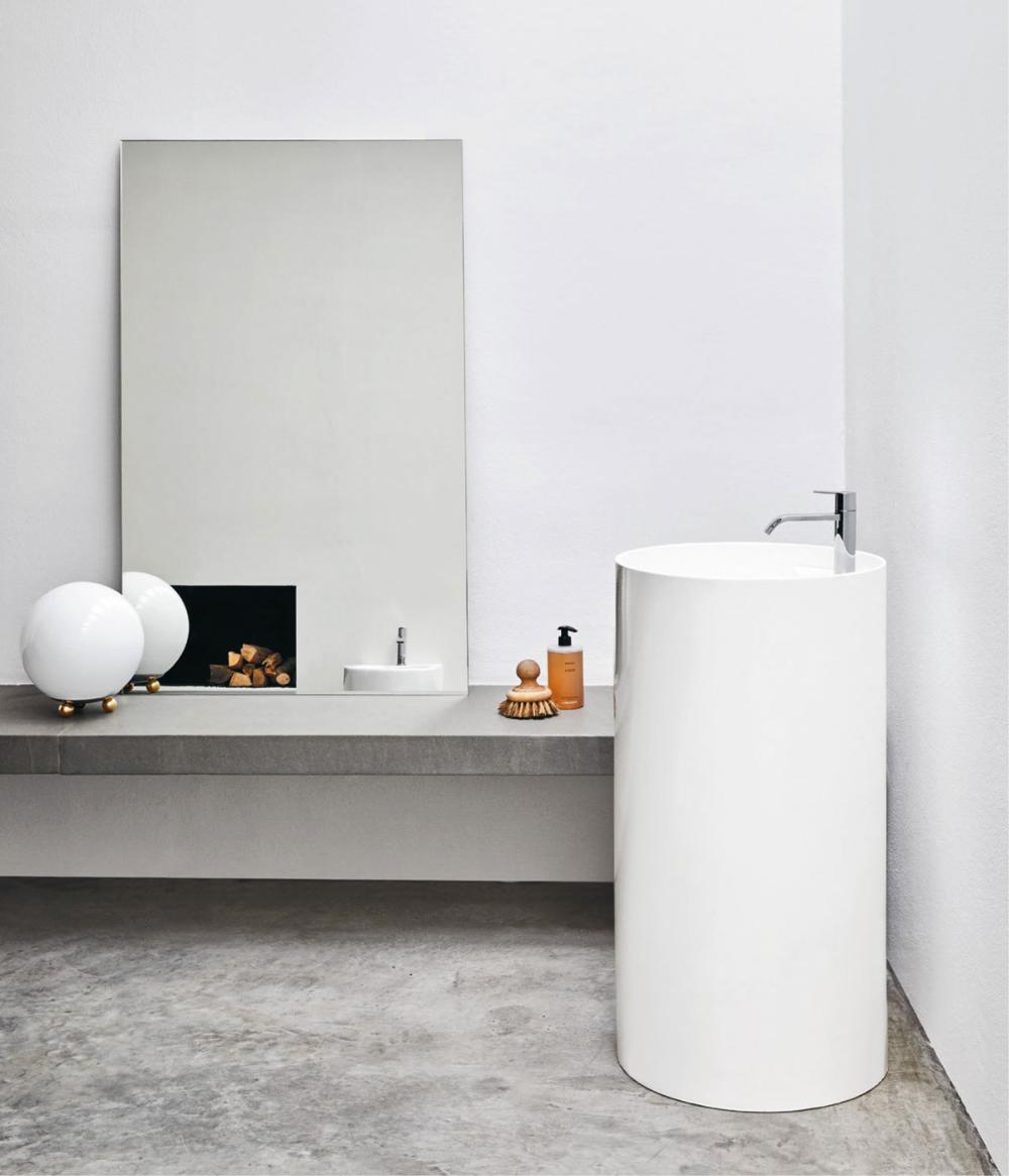 Categoria Lavabi freestanding, collezione Ovvio Lavabo