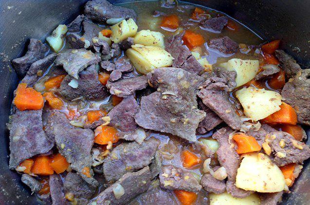 Homemade Beef Liver Dog Stew Recipe Dog Food Recipes Recipes