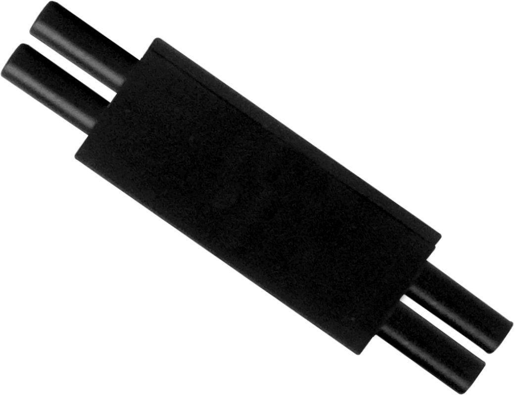 Maxim 87820 MXInterLink2 Coupler Black Accessory Under Cabinet Accessories Coupler