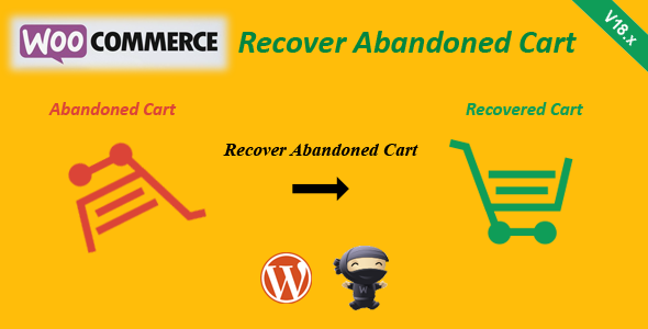 Download CodeCanyon WooCommerce Recover Abandoned Cart v18 6