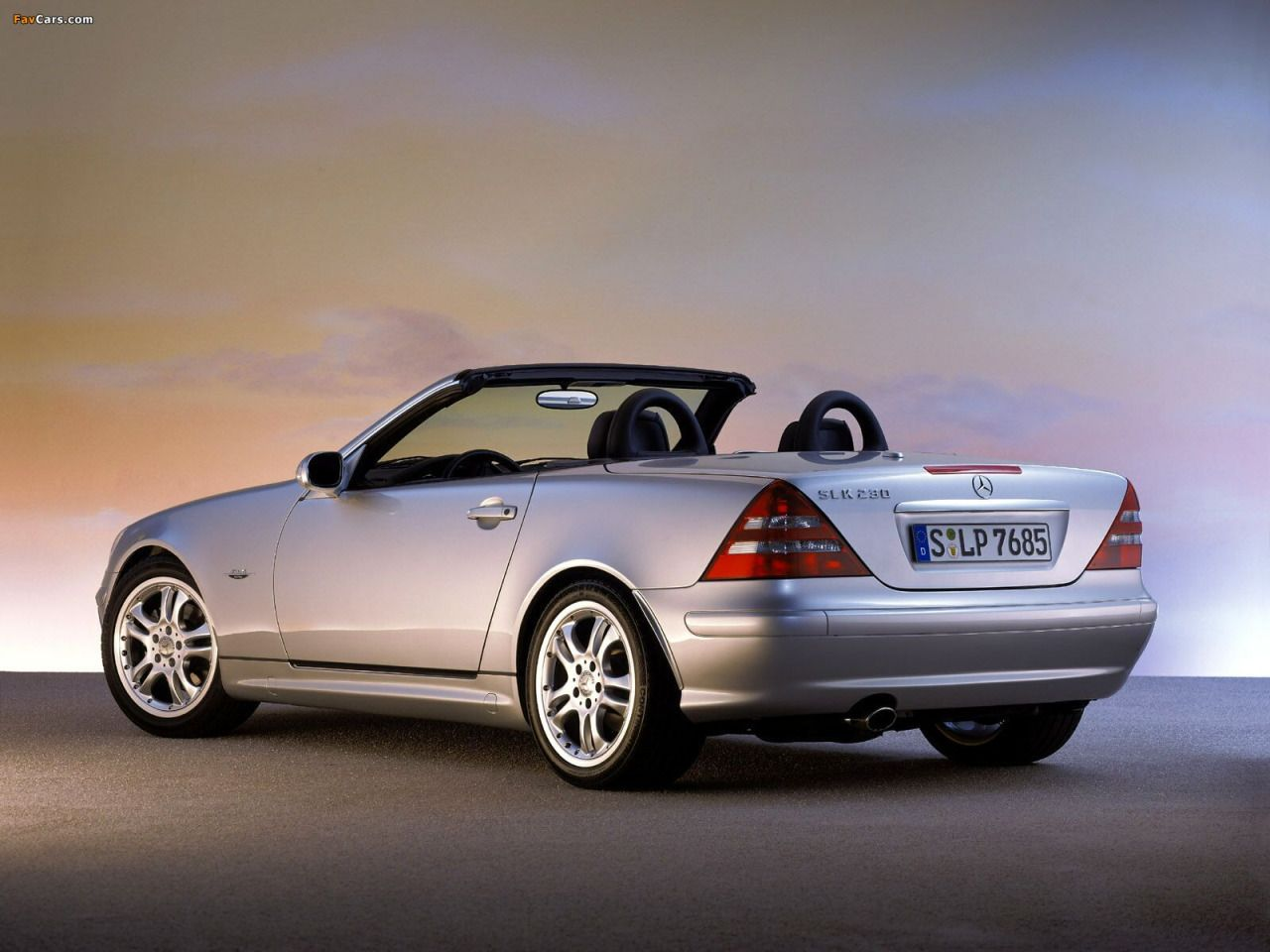Mercedes benz slk 230 final edition 2003 automatica for Mercedes benz slk 230