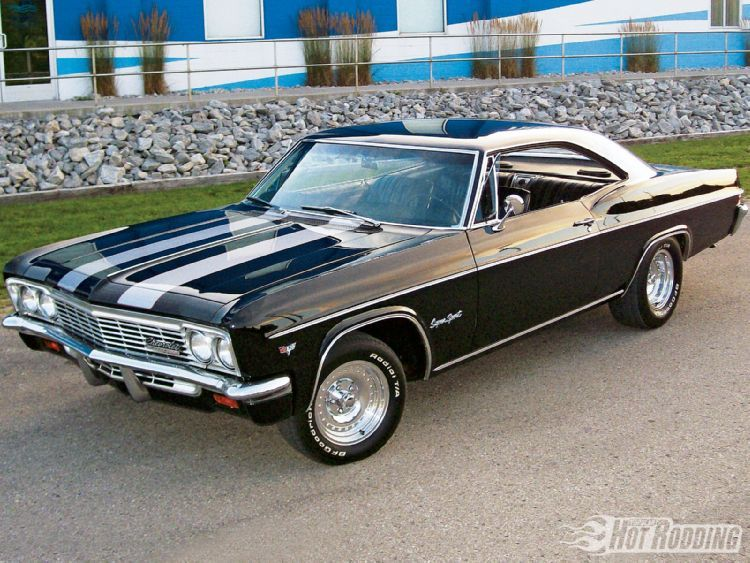 1966 Chevrolet Impala Sport Coupe Muscle Cars American Muscle