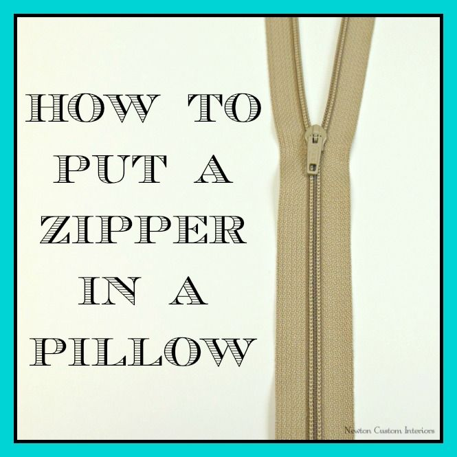how to put a zipper in a pillow pillows sewing projects and hand sewn