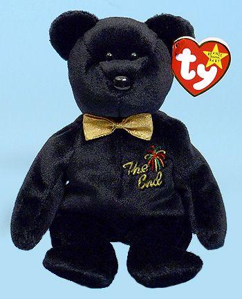 The End - bear - Ty Beanie Babies  de5e666eeb9