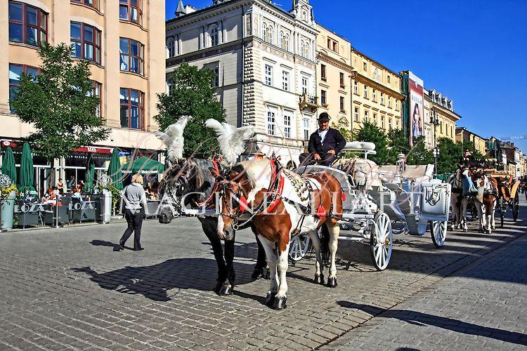 Old Market Square, Krakow, Poland | Creative& Travel Stock Photography/MalgorzataLarys