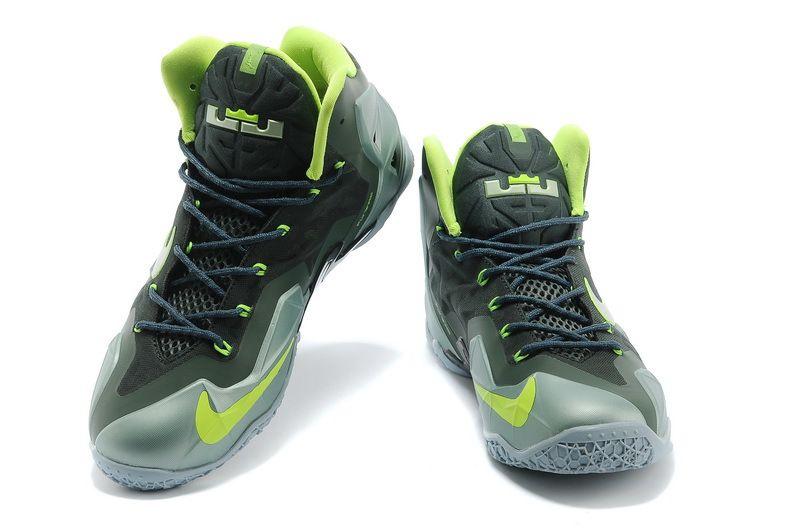 e0c1767ce21 ... canada nike lebron 11 basketball shoes for men blue black new d9698  906d8