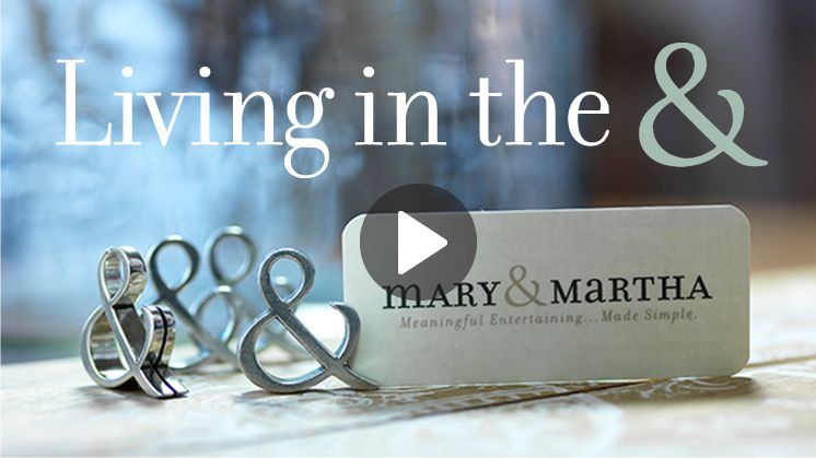 Have You Heard Of Mary Martha Such Cool Christ Centered Items For Your