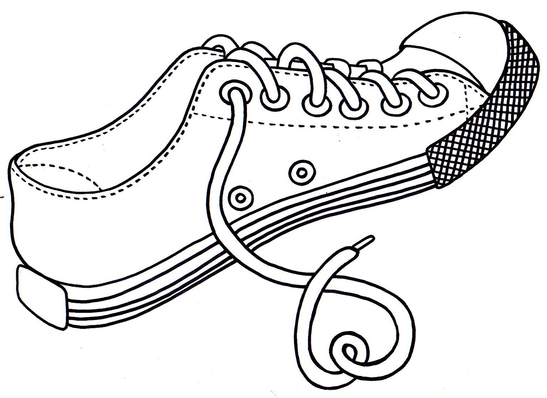 149 Dibujos Para Imprimir Colorear O Pintar Para Niños: Resultado De Imagen Para Zapatos Para Colorear E Imprimir