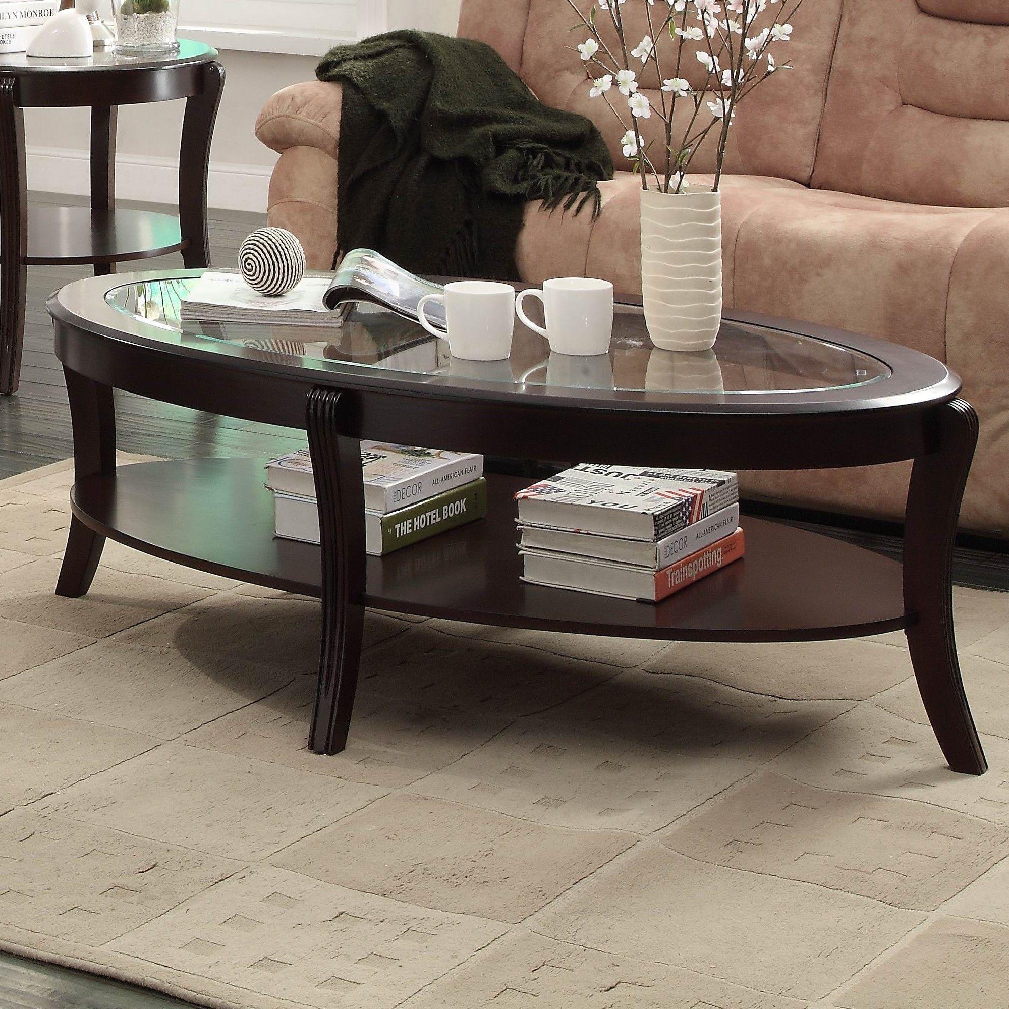 Woodbridge Home Designs Pierre Coffee Table Set Glass Coffee Table Decor Coffee Table Coffee Table With Shelf [ 2000 x 2000 Pixel ]