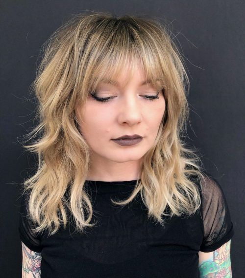16 Cute Bob With Side Bangs You'll Want to Try in 2020 (With images) | Bangs for round face, Bob ...