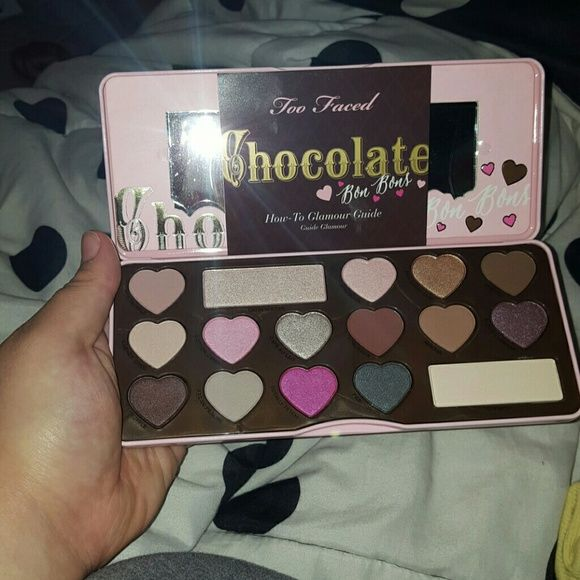 Too Faced Chocolate Bon Bons Palette Unusde brand new authenyic too faced palete Too Faced Makeup Eyeshadow