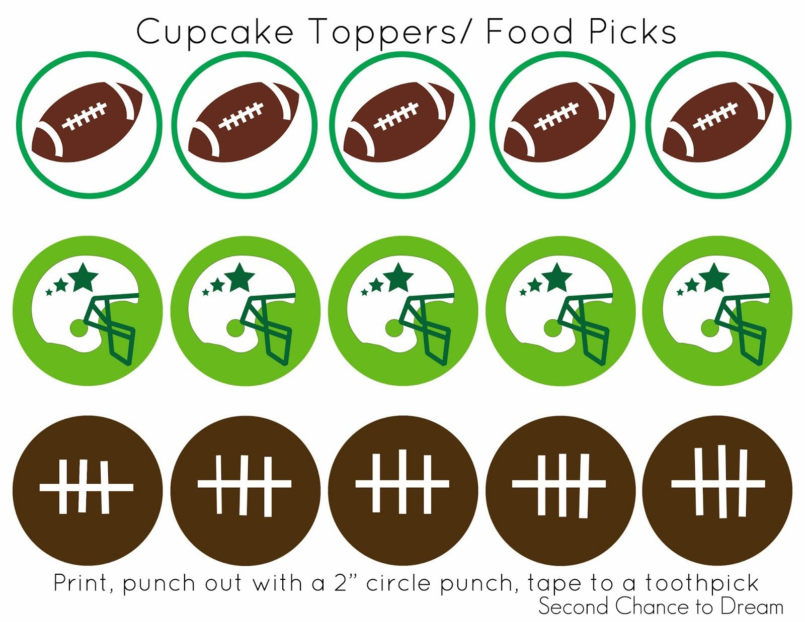 are you ready for some football free football party printables