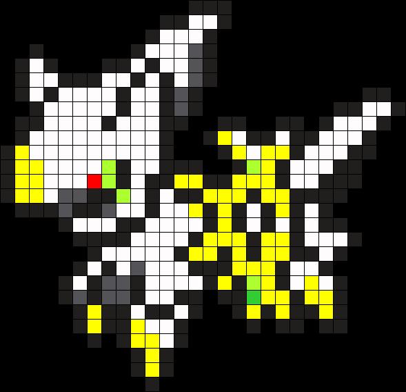 Arceus Pixel Art