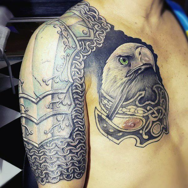 Body armour and pictures to pin on pinterest tattooskid for Tattoo artists kalamazoo mi
