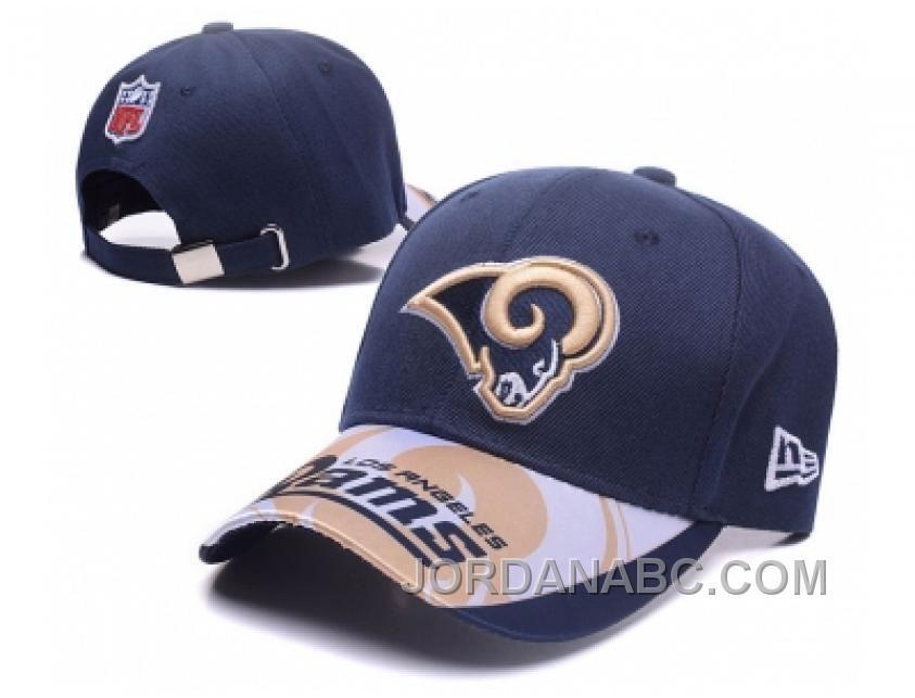 2429a62f3f5 NFL Los Angeles Rams New Era Adjustable Hat 837 Online