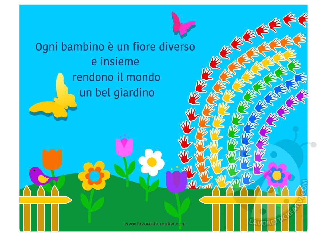 Accoglienza lavoretti creativi disegni da colorare for Lavoretti accoglienza infanzia
