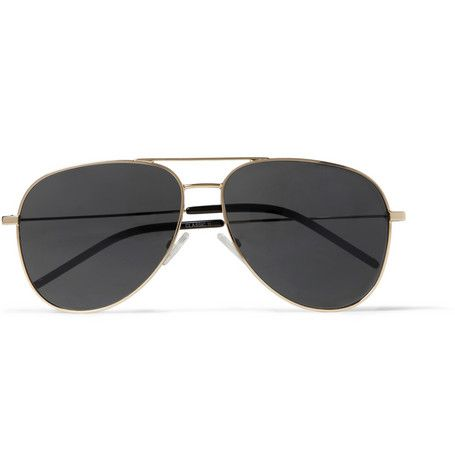 Classic 11 aviator sunglasses - Metallic Saint Laurent Eyewear M9JKGE