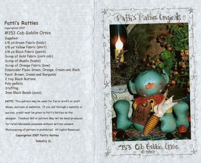 SONHO LILÁS-artesanatos: Cob Goblin Ornie