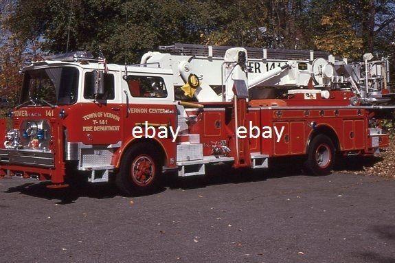 Vernon CT T141 - 1991 Mack CF Baker 75' Tower X-FDNY L131