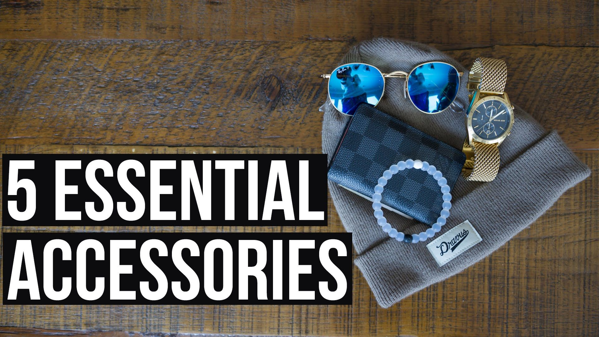 5 Essential Mens Accessories / 2016