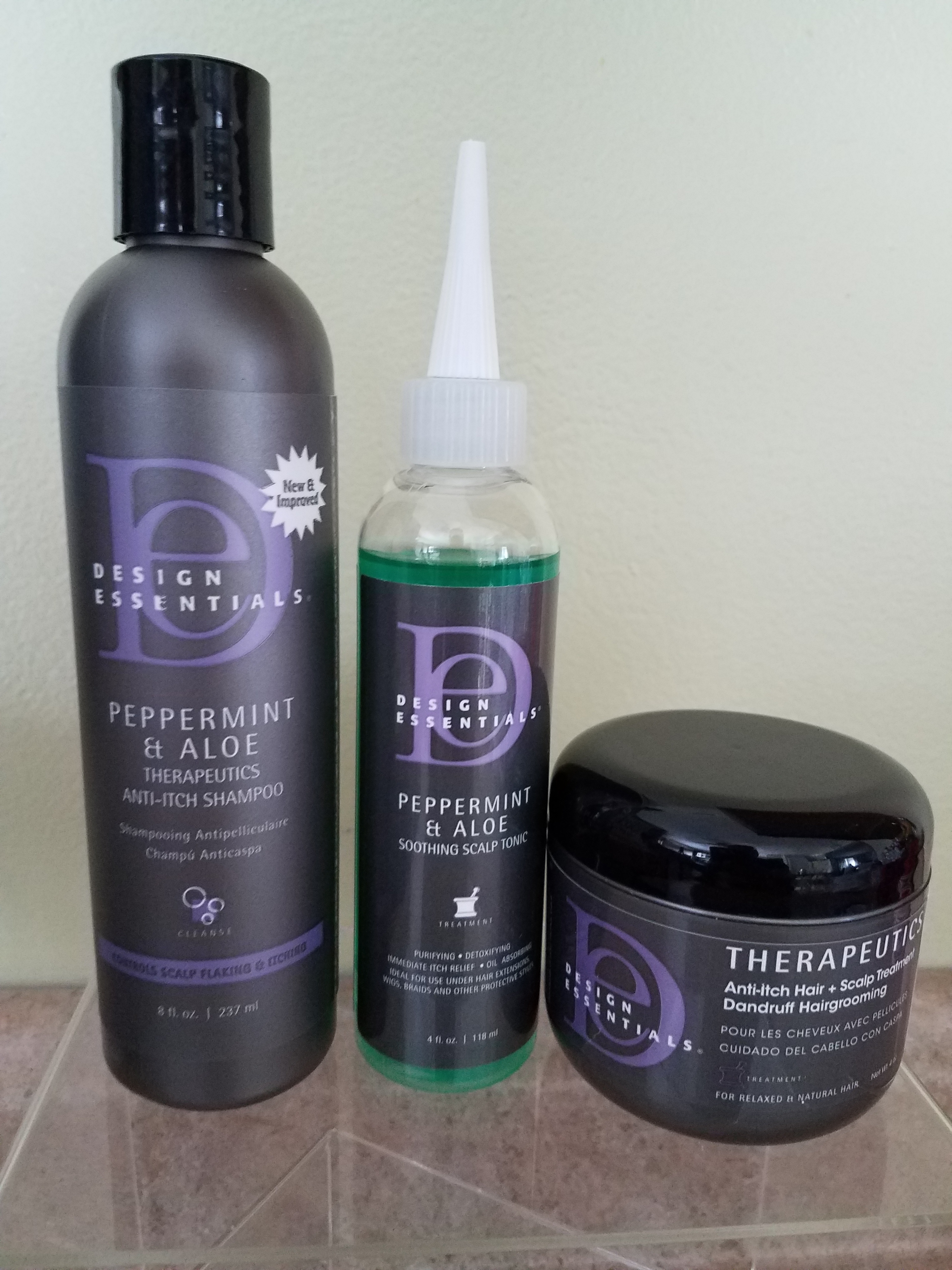 Design Essentials Itchy Scalp Combo1peppermint Aloe Therapeutics