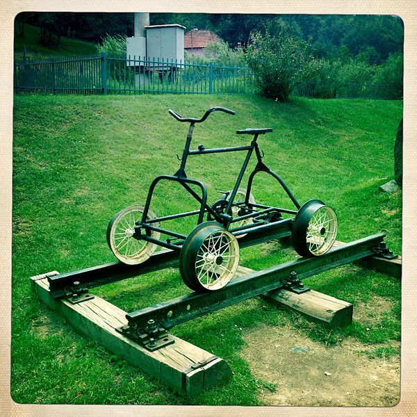 Check Out This Epic Bug Out Vehicle. The Bug Out Rail Bike Is A Cheap Andu2026