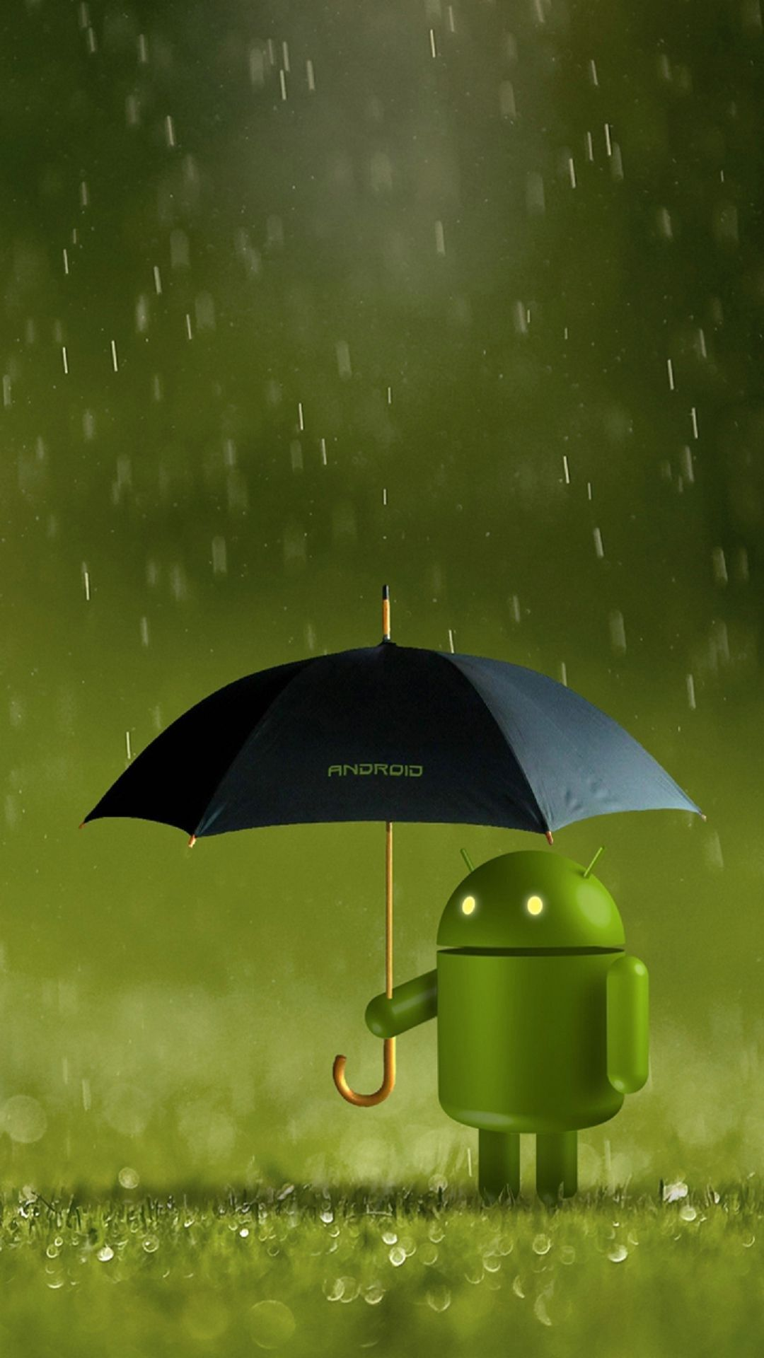 android robot wallpaper for android