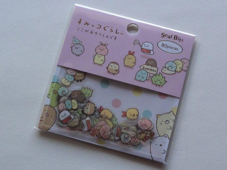 San-X Sumikko Gurashi seal bits flake sack sticker cute kawaii GIFT planner SALE
