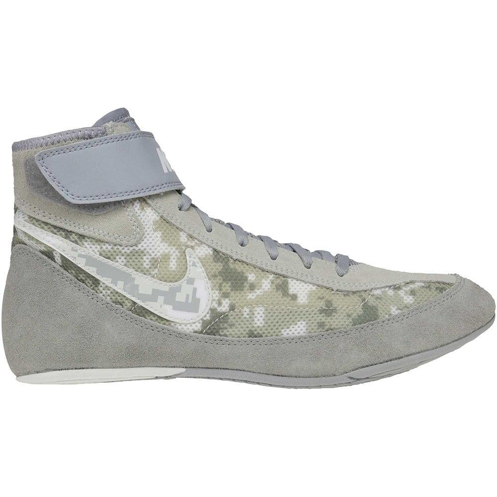 ea120b772d6a Nike Youth Speedsweep VII Wrestling Shoes (Grey Camo)