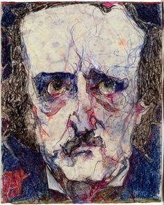Horst Janssen -- E. A. Poe, 1982