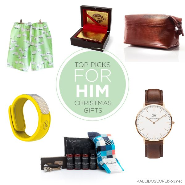 Kaleidoscope Christmas Gift Guide Top Picks For Him Gift Ideas ...