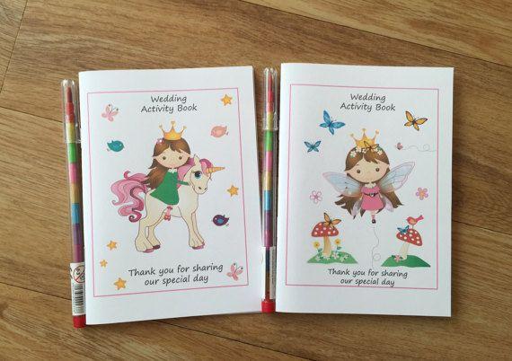 A6 Fairytale Princess Design Children's by DesignsbyDaisyandMax