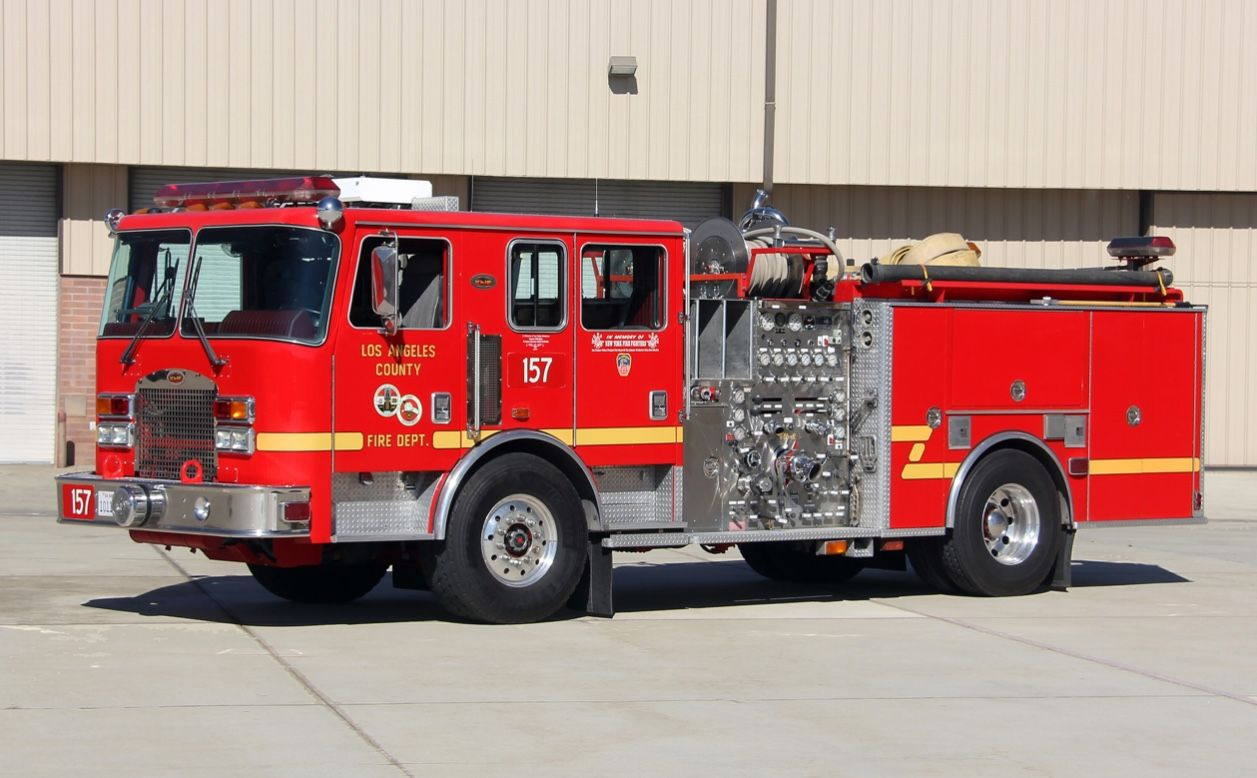 Fire Trucks Image By Peter Willis On Lacofd Fire Service Fire Rescue