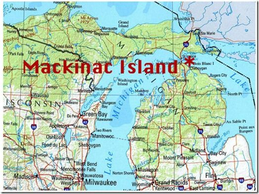 Mackinac Island Michigan Exploring Geography Mama Smiles Joyful Parenting Mackinac Island Michigan Mackinac Island Mackinaw Island Michigan