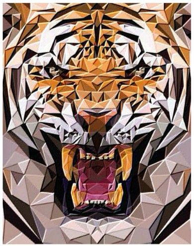 Davis and Bendis Ronchetti of Milan-based Illulian & C designed this beautiful, graphic tiger rug.